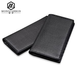 Hot Sale Carbon Fiber Geniune Leather Men Wallet Purse pictures & photos