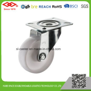 100mm Swivel Plate White PP Castor (P103-30D100X35) pictures & photos
