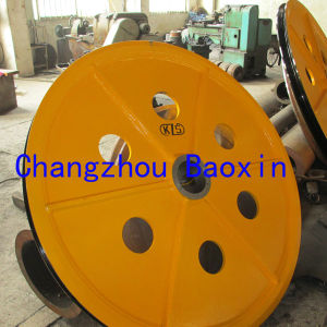 Manufacturer Heavy Crane Pulley Sheaves pictures & photos