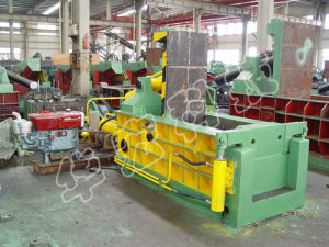 Hydraulic Waste Car Shell Metal Baler Recycling Machine pictures & photos
