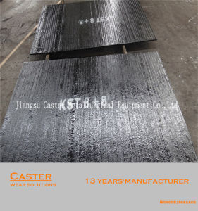 Direct Factory Produce HRC58-62 8 Over 8 Hardfacing Wear Plate for Feeding Chute pictures & photos