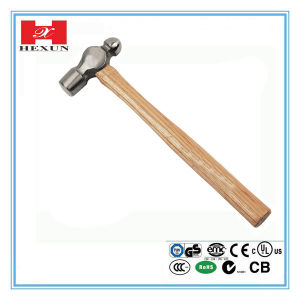 Machinist Hammer with Bleaching Handle pictures & photos