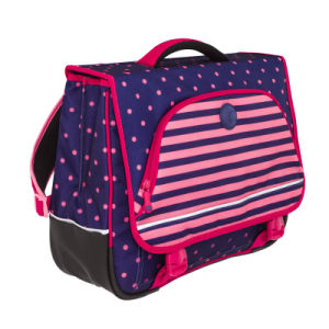 High Quality DOT Partial Hard Printing Girl School Backpack pictures & photos
