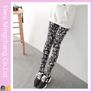 OEM Accepted Fashion High Waist Cheap Printed Leggings pictures & photos