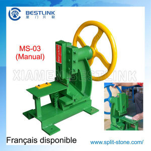 Manual Mini Cube Stone Mosaic Chopping Machine pictures & photos