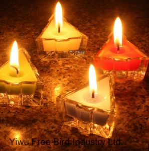 Scented Soy Decorative Tea Light Plastic Candle pictures & photos