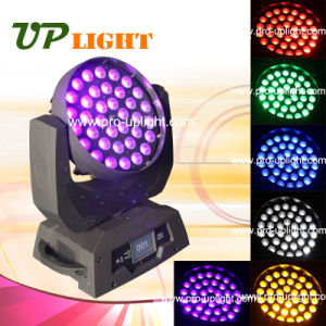 36X18W Rgbwauv 6in1 Wash Zoom LED Moving Head Light pictures & photos