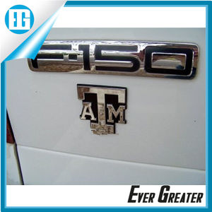 Customized Embossed Car Logo Emblems with ISO/Ts16949 Certified pictures & photos