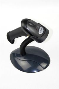 Black Laser Digital Barcode Scanner pictures & photos