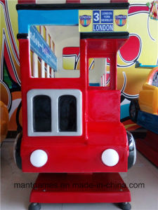 Kids′ Favoutate Kiddie Ride Game Machine London Bus pictures & photos