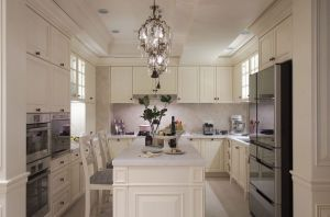 White Shaker Kitchen Furniture Solid Wood Kitchen Cabinet Yb-170488 pictures & photos