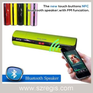 Touch Buttons NFC FM Audio Mini Wireless Bluetooth Speaker pictures & photos