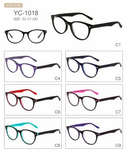 in Stock Fashion Hot Selling Acetate Eyeglasses Optical Frames pictures & photos