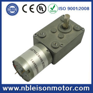 12 Volt 24 Volt Micro DC Worm Gear Motor (WGM370) pictures & photos