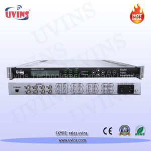 DVB Standard IRD Decoder Demodulator Satellite Receiver for Encrypted Channels Qpsk Ts Demodulator pictures & photos