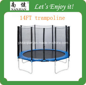 14ft Wholesale Outdoor Gymnastic Trampoline for Adults TUV-GS Approved pictures & photos