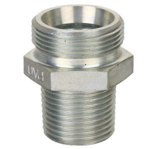 Straight Male Stud Hydraulic Jic 37 Deree Flared Connector Fitting pictures & photos