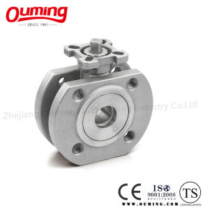 Wafer Type Ball Valve with Mouting Pad pictures & photos