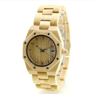 Fashion Mens Wooden Watch Red Sandalwood Watch pictures & photos