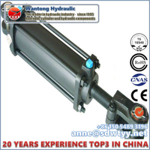 OEM Double Acting Tie Rod Hydraulic Cylinder pictures & photos