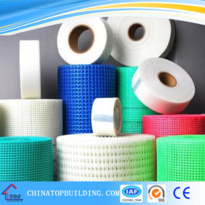 Fiber Mesh Tape /Self-adhesive Fiber Mesh Tape for Drywall 45mm*75m pictures & photos