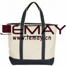 Hot Sale OEM Fashion Customized Printed Canvas Flet Cotton Blank Wholesale Tote Bag pictures & photos