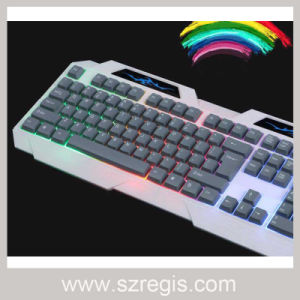 LED Waterproof USB Wired Computer Standard Keyboard pictures & photos