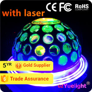 Yuelight Wholesale Rgbwp LED Cosmos Party Night Light with Laser LED Light Disco Ball pictures & photos