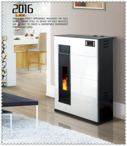 Popular Italian Appearance Cast Iron Pellet Stove pictures & photos