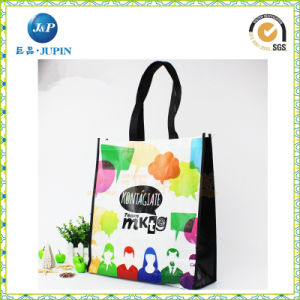Non Woven Laminated Shopping Tote Bag, with Custom Size (JP-nwb017) pictures & photos