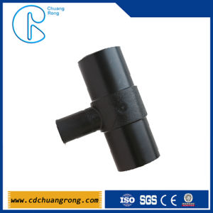 Plastic Water Pipe Buttfusion Reducing Tee pictures & photos