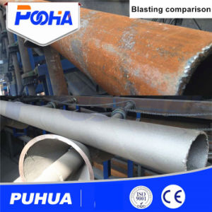 Qgw Steel Pipe Outer Wall Wheel Shot Blasting Machine pictures & photos
