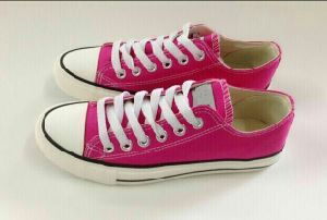 Canvas Shoes with Many Colors (CAN-001) pictures & photos
