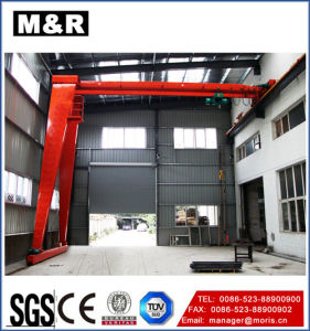 European Standard Single Beam Half Portal-Type Crane with Good Design pictures & photos