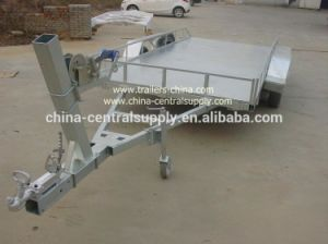 Factory Made and Sale Car Carrier Trailer with Winch CCT010A pictures & photos