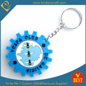 China Customized Die Casting PVC Key Chain in Special Design with High Quality pictures & photos