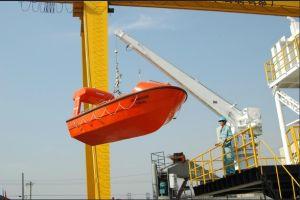 Single Arm Rescue Boat Davit HMD25 pictures & photos