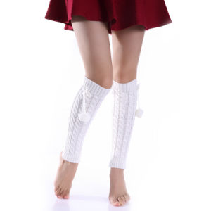 Fashion Acrylic Knitted Leg Warmers Socks Leg Cover pictures & photos