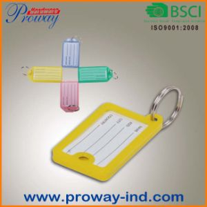 Cheapest Plastic Key Ring with Key Tag (KT-64) pictures & photos