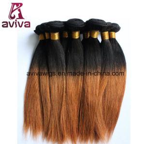 #1b/30 Silky Straight Virgin Hair Ombre Natural Virgin Human Hair Extension pictures & photos
