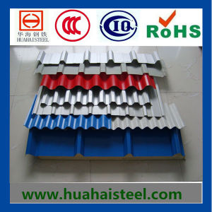 Color Coated Roofing Steel in Coil/Sheets (Yx25-205-820 (1025) (Hot)) pictures & photos