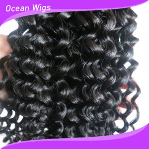 Wholesale Unprocessed 8A Grade Virgin Brazilian Curly Hair, Classic Jerry Curl Hairstyles for Black Women pictures & photos