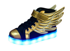 Kids Luminous Fashion Shoes with USB Charging Cable