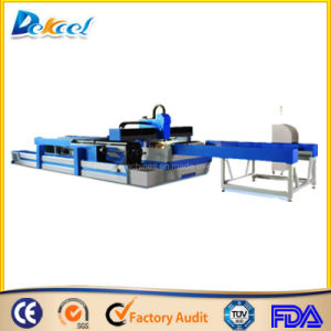 Metal Pipe CNC Cutter for Round /Square Fiber Laser Machine pictures & photos