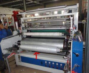 Three Layers LLDPE Stretching Film Extrusion Machine pictures & photos