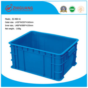Plastic Turnover Boxes Used for Goods Tranportation pictures & photos