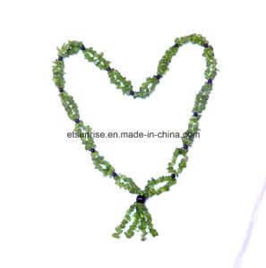 Semi Precious Stone Fashion Jewelry Necklace Jewellery <Esb01357> pictures & photos