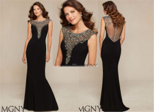 Women Slim Sexy of Beaded Evening Dress, Party Dress Tailored pictures & photos