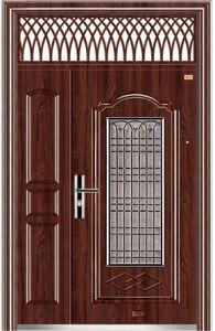Steel Door From China Export Best Price Metal Door (9160) pictures & photos