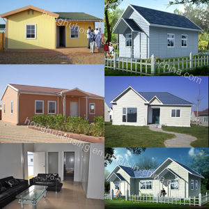 Light Steel Structure Prefabricated Home pictures & photos